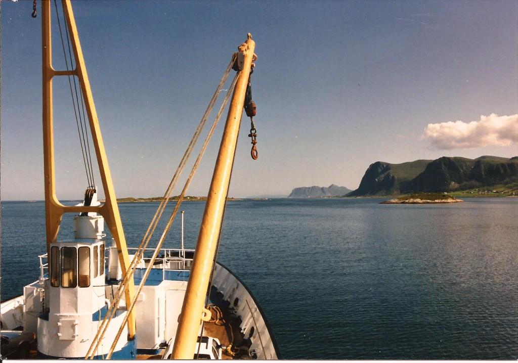 Norveç kıyılarında kuzeye doğru