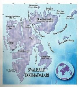 Svalbard harita