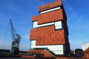 Antwerpen'de Irmak Kıyısı Müzesi MAS