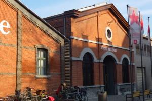 Eski antrepolara yerleşik Red Star Line Müzesi.