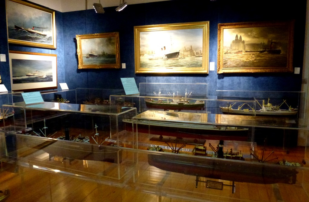 Deniz Tarihi Merkezi'nde 20. yüzyıl salonu